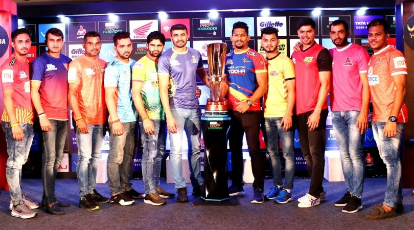 Pro Kabaddi 2019 Teams Captains and Coaches : List and Details of all PKL Season 7 Teams Captains and Coaches