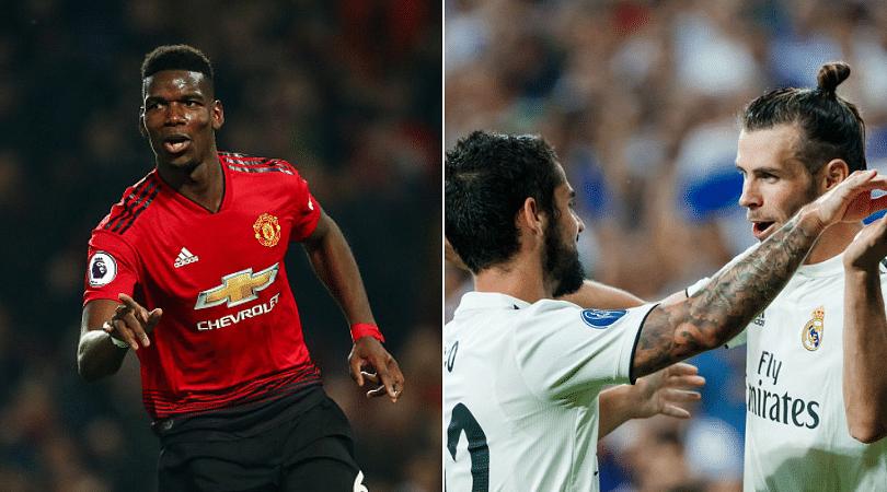 Paul Pogba to Real Madrid: Man Utd respond as Los Blancos offer €80 million plus Gareth Bale and Isco
