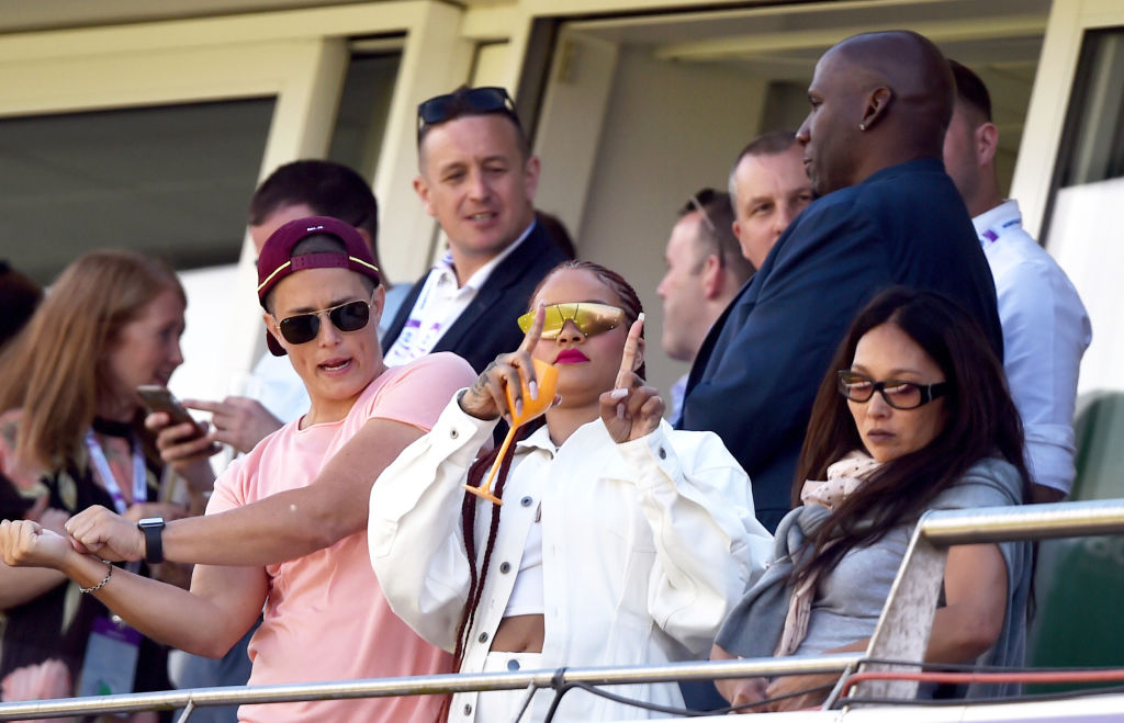 Watch Rihanna Extends Support To West Indies During 2019 Cricket World Cup Match Vs Sri Lanka The Sportsrush
