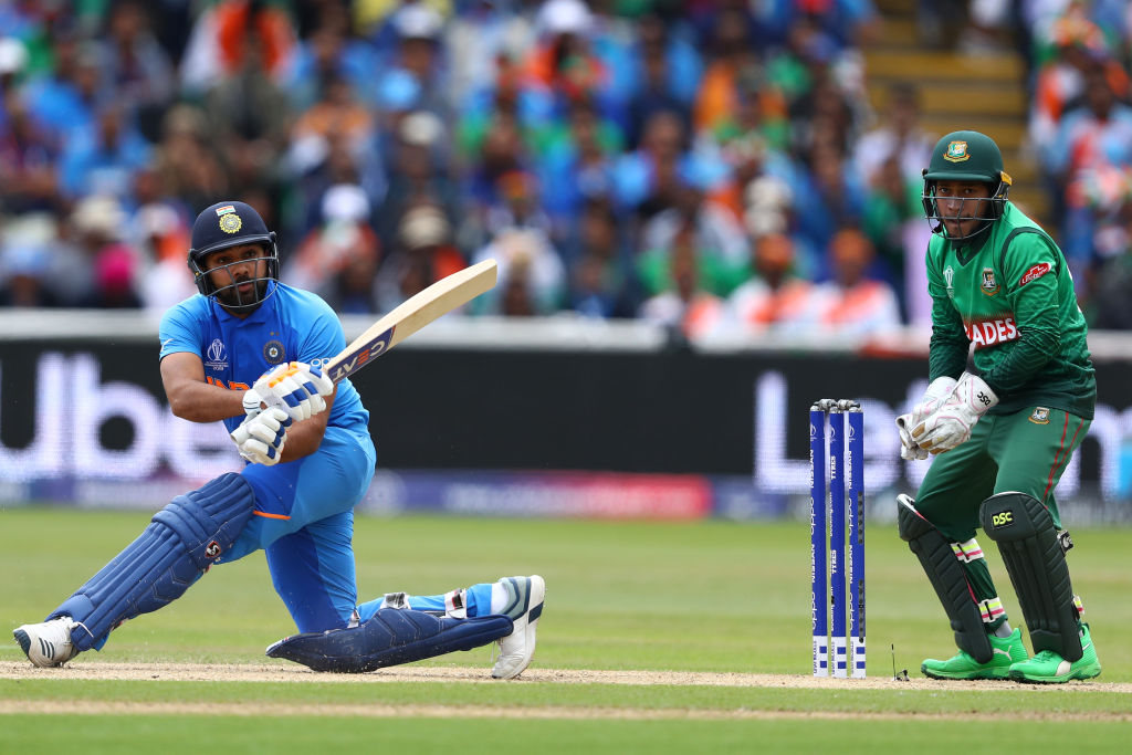 Rohit Sharma responds hilariously on scoring four centuries in ICC Cricket World Cup 2019