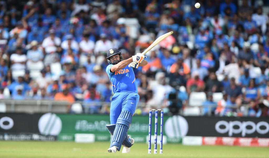 Twitter reactions on Rohit Sharma becoming first batsman to score five centuries in a World Cup