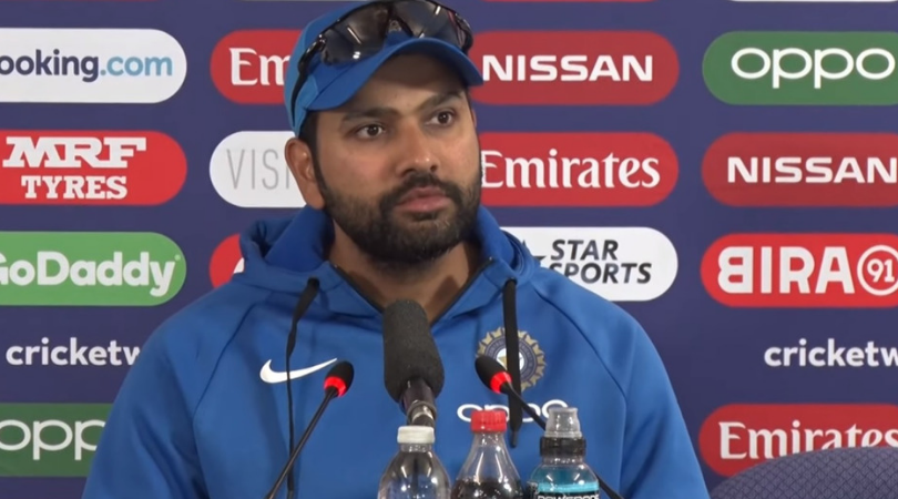 WATCH: Rohit Sharma 'unperturbed' about Sachin Tendulkar's record of Most runs in a World Cup