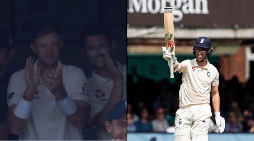 Jack Leach's maiden half-century: Watch Joe Root celebrates nightwatchman's efforts post opening the batting