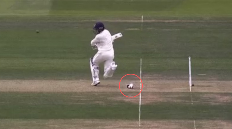 WATCH: Jason Roy funnily loses shoe while batting in England vs Ireland one-off Test