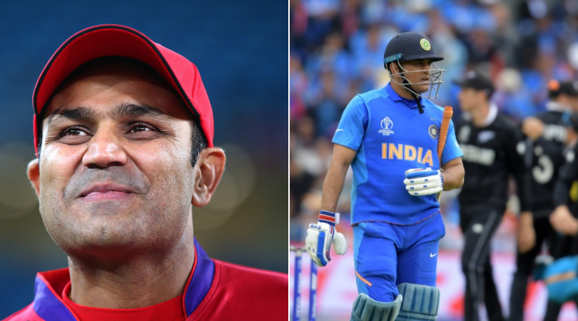 WATCH: Virender Sehwag opines on MS Dhoni's future ahead of India's tour of West Indies