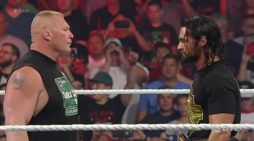 Seth Rollins surprisingly defends Brock Lesnar ahead of their rematch at WWE SummerSlam