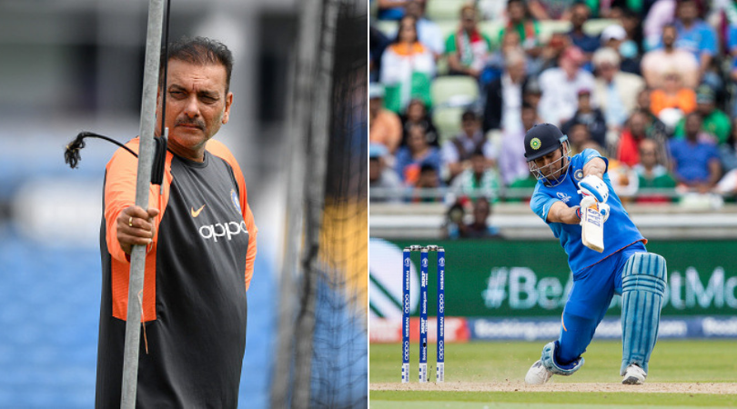 Ravi Shastri discloses why MS Dhoni batted at Number 7 in India vs New Zealand 2019 World Cup semi-final