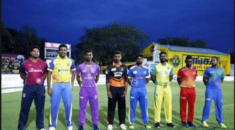 Tamil Nadu Premier League 2019 schedule and team squad