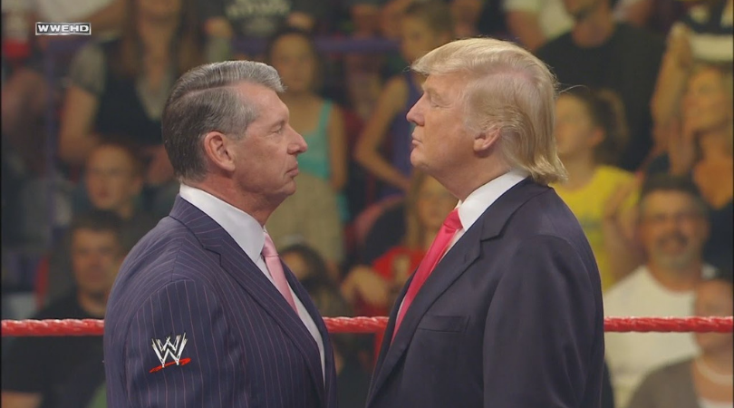 WWE News: US President Donald Trump keen to make WWE appearance.