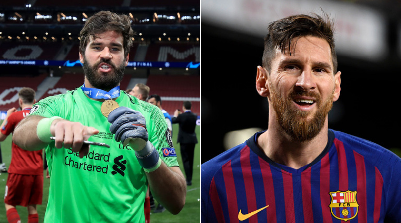 Alisson Becker: Liverpool Goalkeeper talks Ballon d'Or and reason behind his success against Lionel Messi