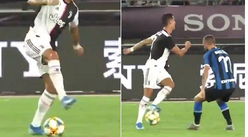 Cristiano Ronaldo no-look pass: Watch Juventus superstar doing no-look pass against Inter Milan