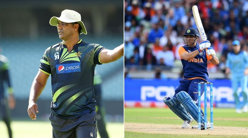 Waqar Younis slams MS Dhoni and India with his tweet after defeat against England
