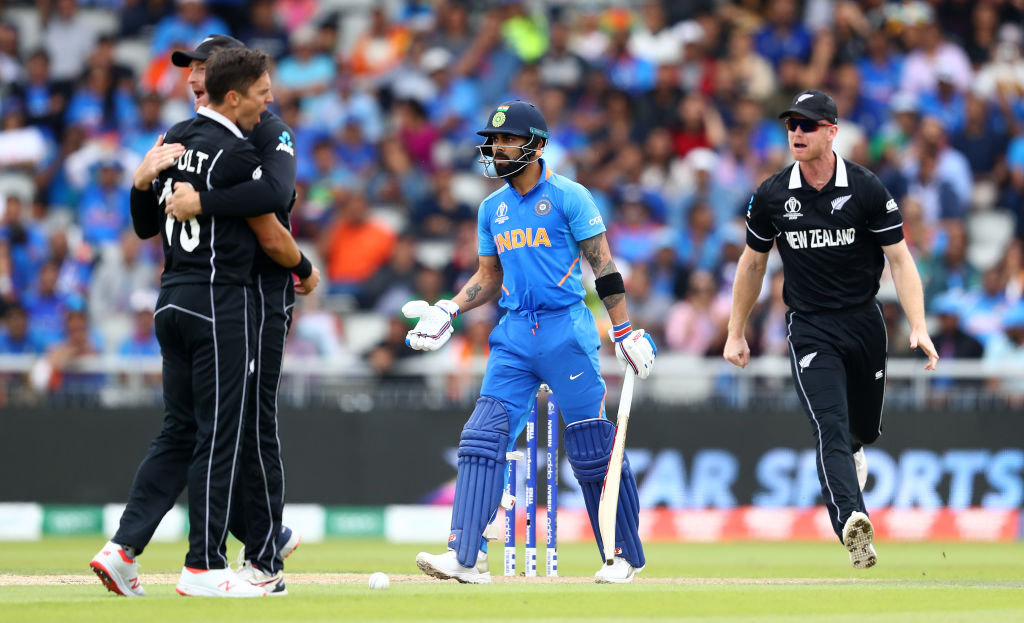 DLS par score for India vs New Zealand: What is the DLS par score for India in 2019 World Cup semi-final?