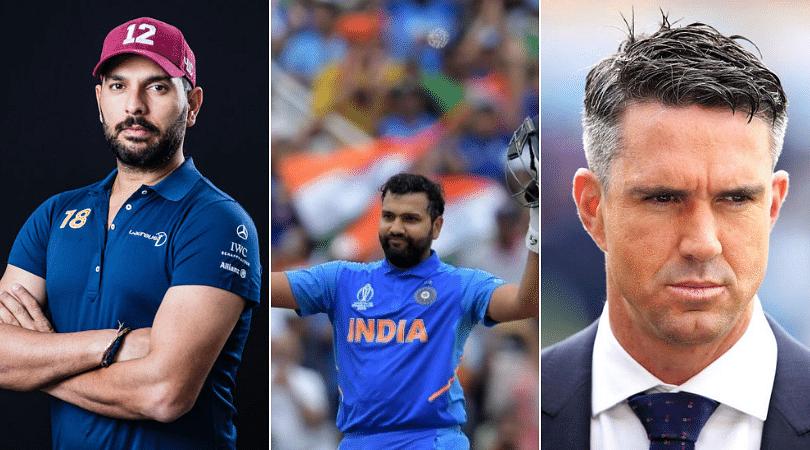 Yuvraj Singh and Kevin Pietersen involved in hilarious Twitter banter over Rohit Sharma's century vs Bangladesh