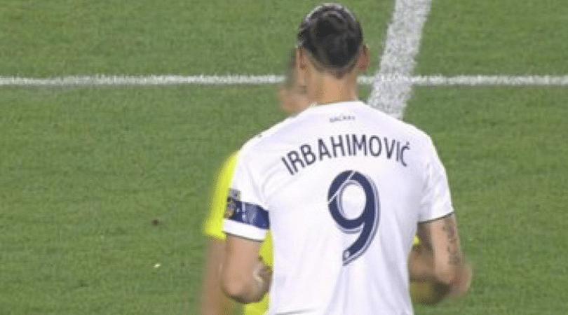 Zlatan Ibrahimovic: LA Galaxy spell the Star Striker's name wrong on his shirt