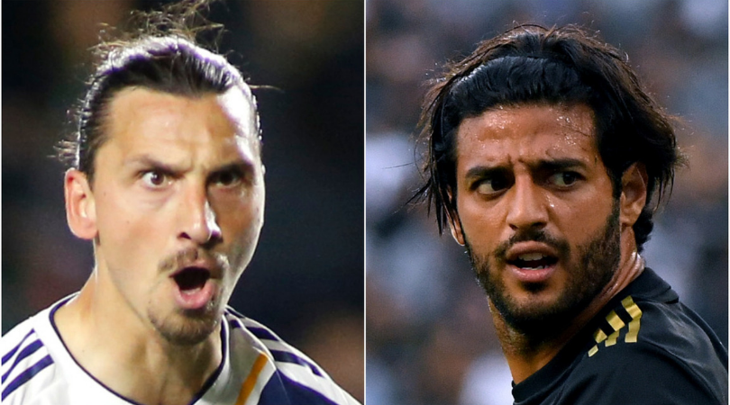 Zlatan Ibrahimovic: Carlos Vela claims that he is better than the LA Galaxy star