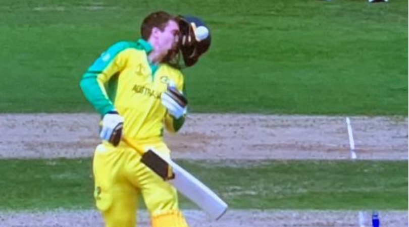 WATCH: Alex Carey gets hit by vicious bouncer off Jofra Archer during second semi final of 2019 Cricket World Cup