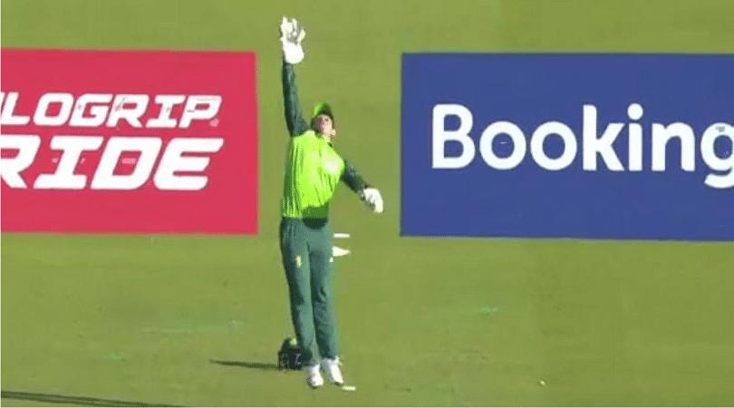 Quinton de Kock catch vs Australia: Watch de Kock grab stunning catch to dismiss Glenn Maxwell