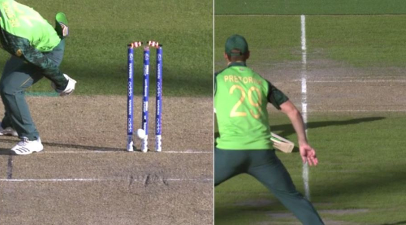 Quinton de Kock run out vs Australia: Watch de Kock pull off MS Dhoni kind of dismissal to send Marcus Stoinis back in pavilion