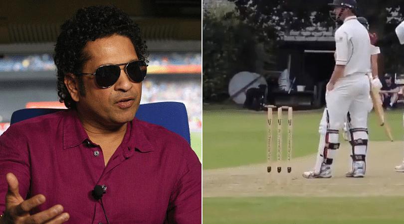 WATCH: Sachin Tendulkar seeks answer from fans regarding confusion around viral video of bowled dismissal