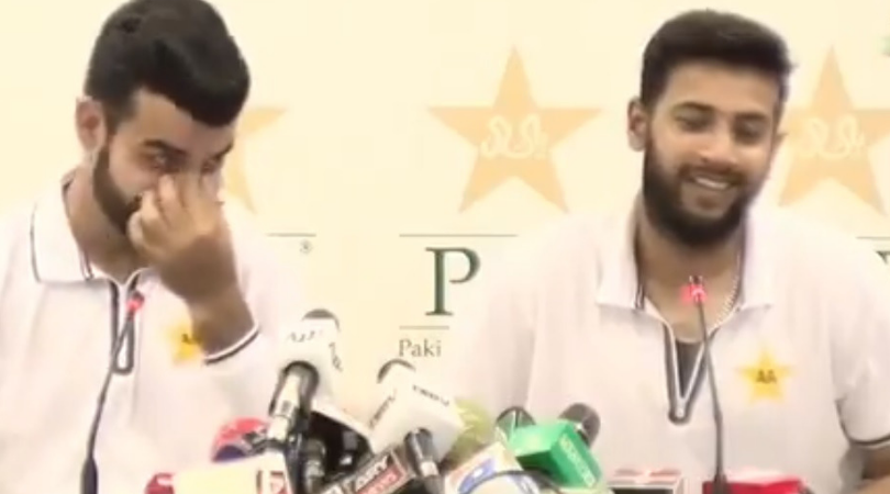 WATCH: Imad Wasim gives comical reply to Pakistani reporter when asked about his marriage plans in near future