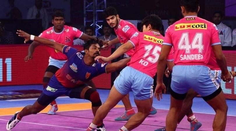 JAI vs HYD Dream11 Team Prediction : Jaipur Pink Panthers Vs Telugu Titans Pro Kabaddi League 7 Best Dream 11 Team