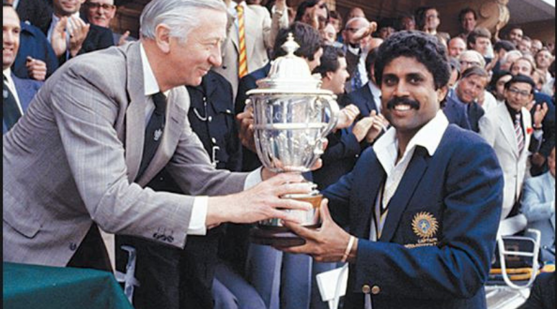How much money were Indian Team players awarded during 1983 World Cup; historical document unveiled