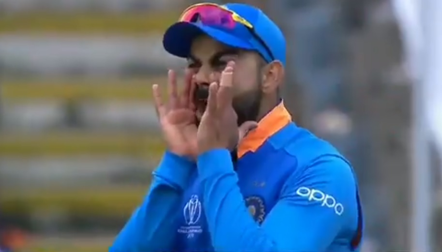 WATCH: Virat Kohli abuses Mohammad Shami for his fielding lapse while fielding during India vs Bangladesh 2019 World Cup match