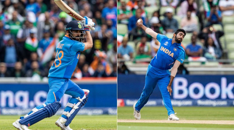 Virat Kohli and Jasprit Bumrah to be rested during India's tour of West Indies in August
