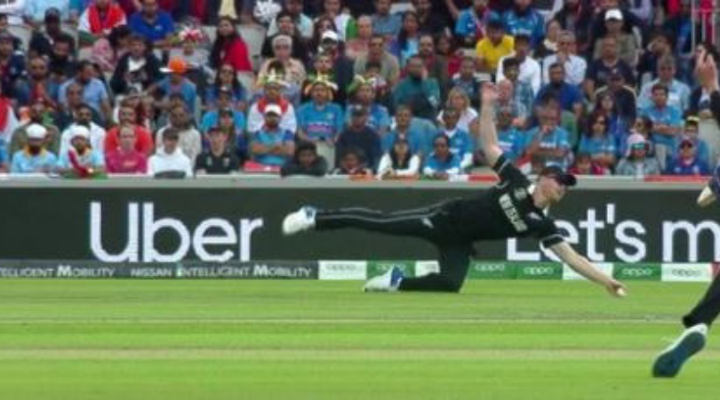 James Neesham catch vs India: Watch Kiwi all-rounder grab an absolute one-handed stunner to dismiss Dinesh Karthik | India vs New Zealand wickets
