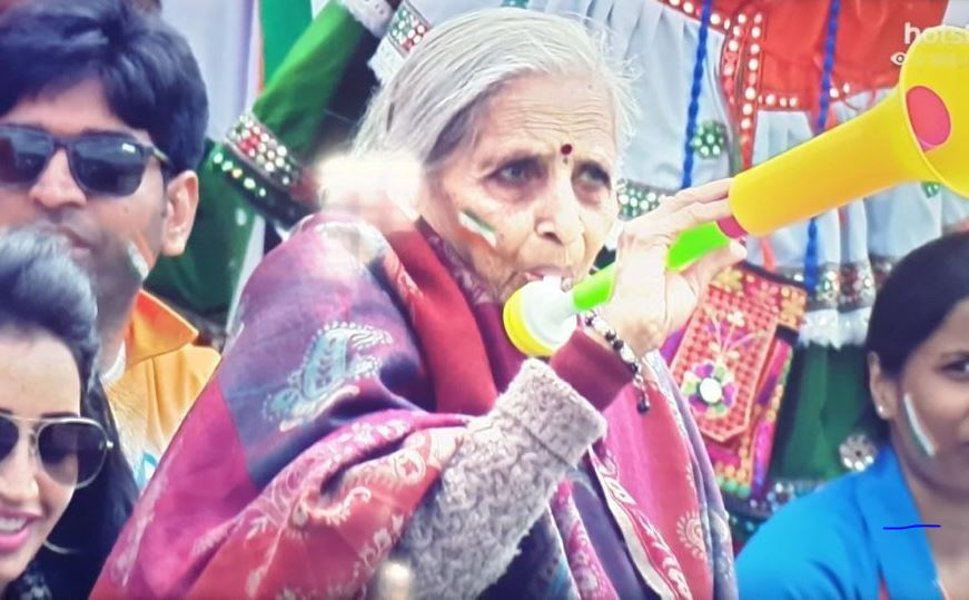 Old lady fan memes: Twitter reactions on an enthusiastic old-aged Indian fan cheering from Birmingham stands | India vs Bangladesh