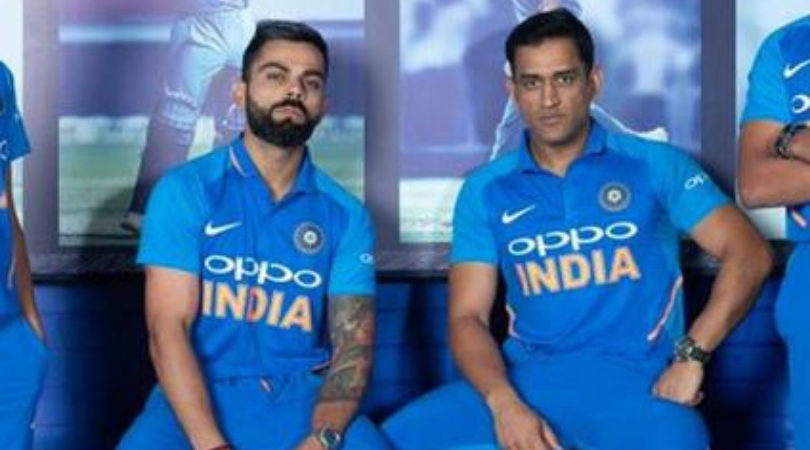 Team India jersey: Oppo to make way for Byju's on the front of India's jersey from September