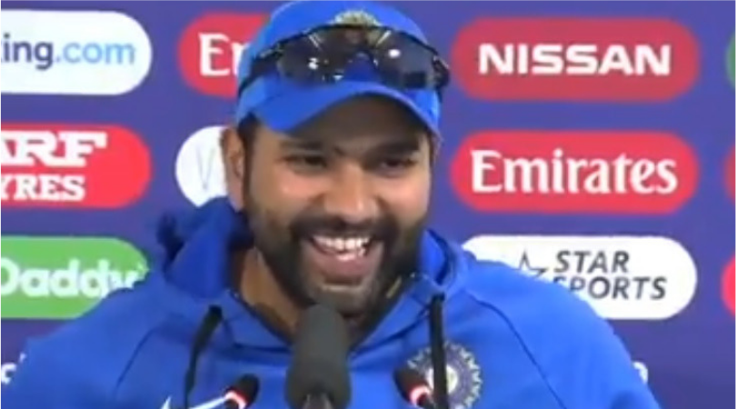 Rohit Sharma on MS Dhoni's birthday: WATCH Rohit give hilarious reply to reporters when asked on his message for Dhoni on his birthday