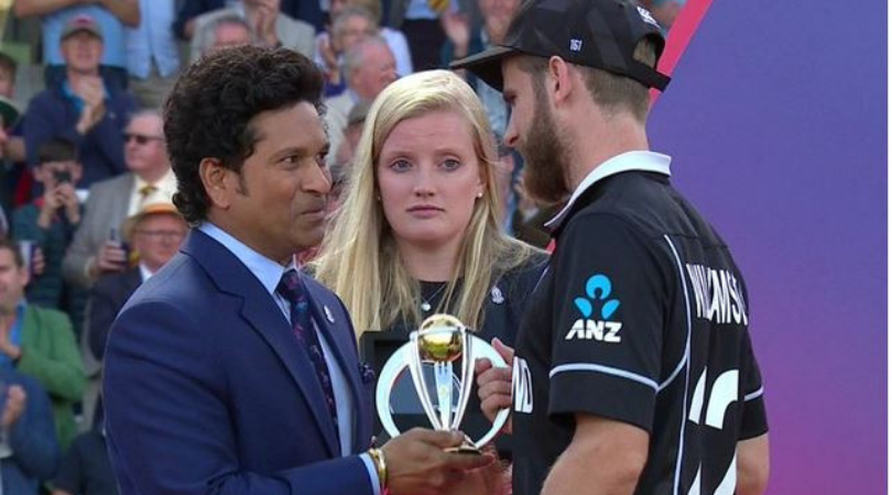 Sachin Tendulkar reveals what he said to Kane Williamson after New Zealand's loss in final of 2019 Cricket World Cup
