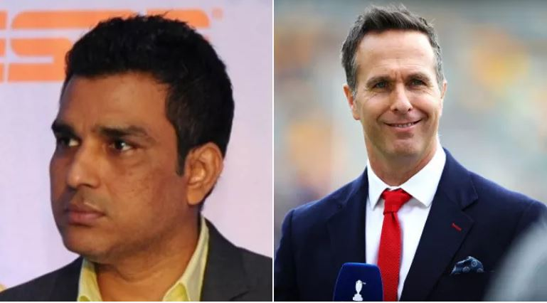 Michael Vaughan hilariously requests Sanjay Manjrekar to unblock him on Twitter