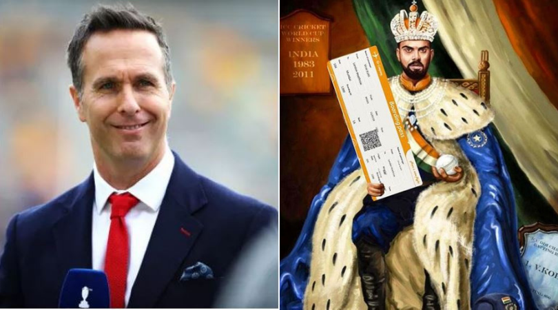 Michael Vaughan trolls Virat Kohli after Team India crashes out of the 2019 ICC Cricket World Cup