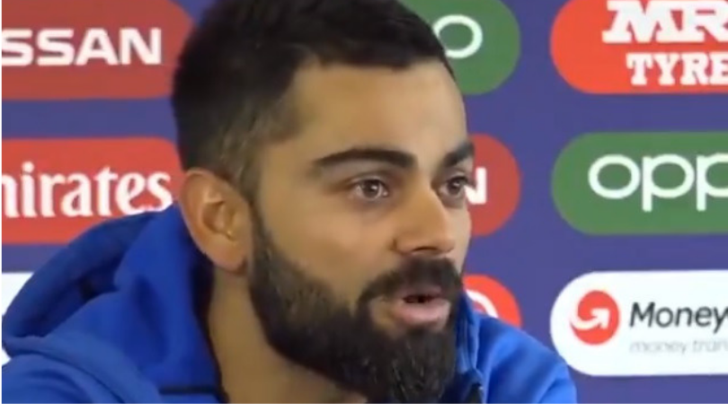 Virat Kohli passes hilarious comment on playing vs New Zealand rather than England in 2019 World Cup semi-final
