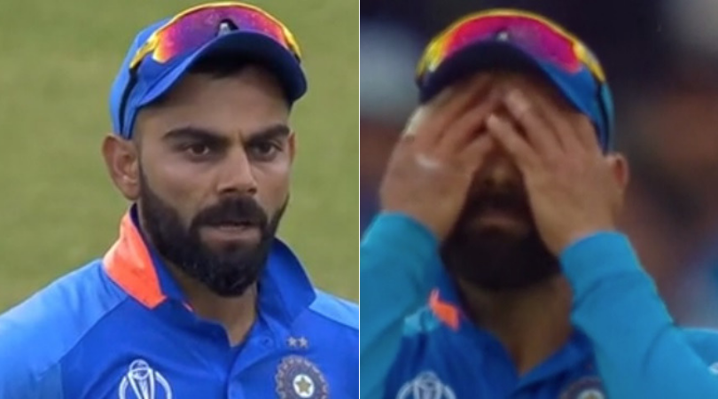 WATCH: MS Dhoni and Virat Kohli involved in sloppy fielding as India concede two overthrow runs | India vs New Zealand
