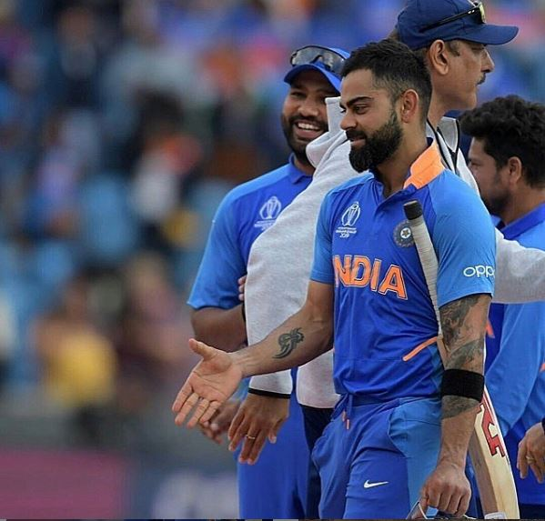 John Cena posts Virat Kohli's hilarious picture of him shaking hands with an invisible person post India vs Sri Lanka 2019 World Cup match