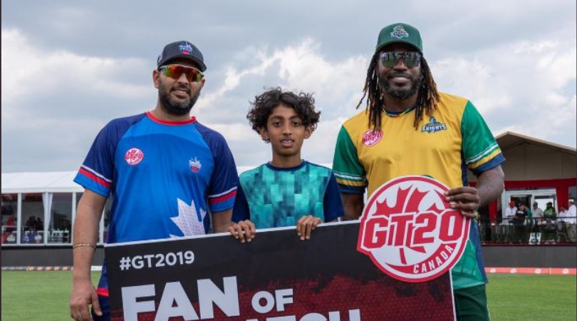 Yuvraj Singh gives hilarious reply when asked about his back problem after his team's loss vs Vancouver Knights | Global T20 Canada 2019