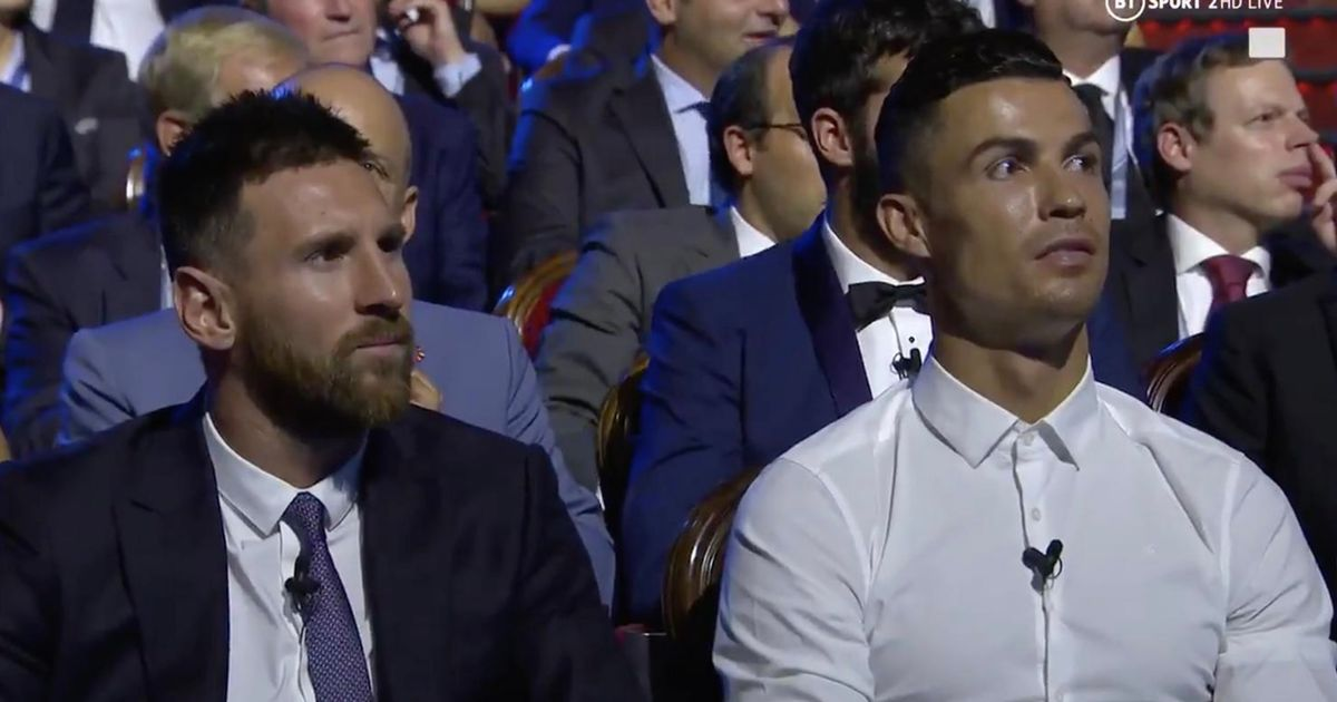 Watch: Cristiano Ronaldo invites his rival Lionel Messi to a dinner during the Champions League draw