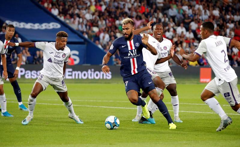 Choupo-Moting remarkable goal for Paris Saint Germain was out of this world