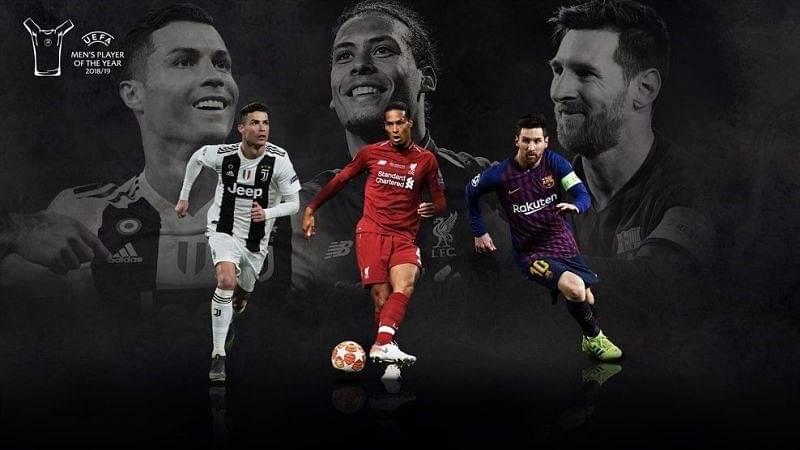 UEFA Men's Player of the year Nominees: Goalkeepers, defenders, midfielders Nominees
