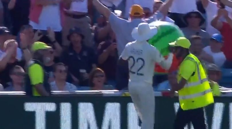 WATCH: Barmy Army chants 'Arise Sir Jofra' after English fast bowler returns beach ball to fans at Western Terrace