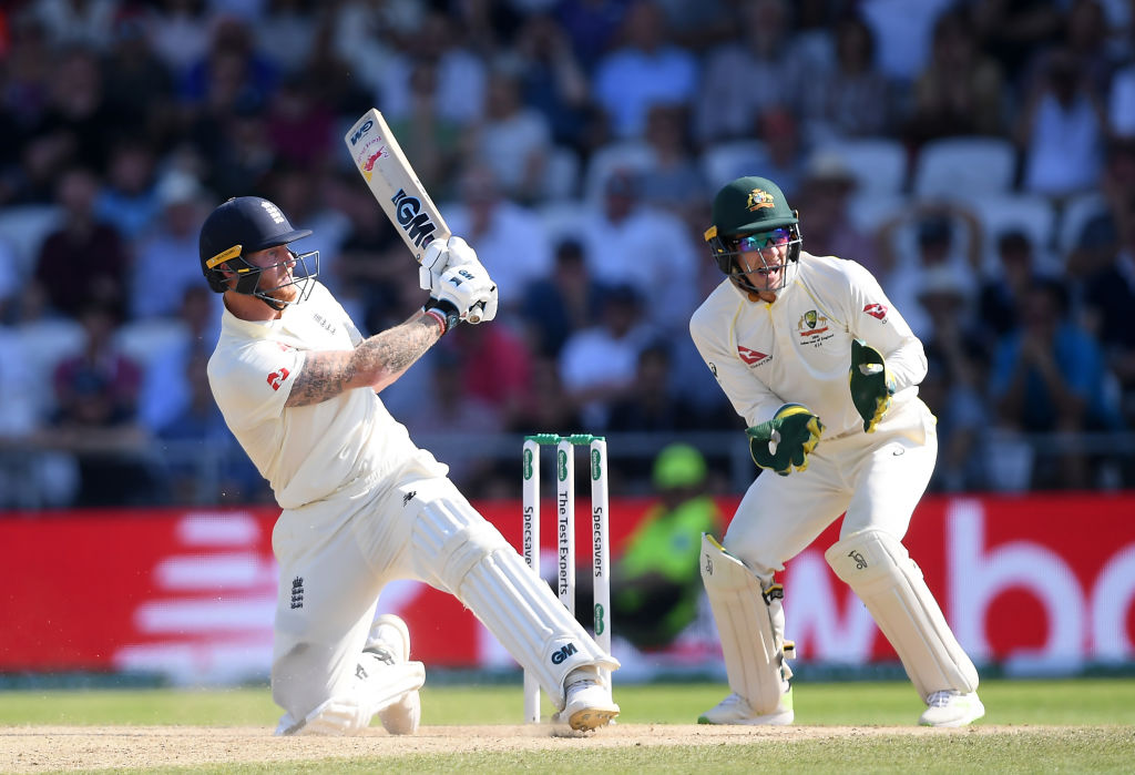 Ben Stokes switch-hit vs Australia: Watch English all-rounder hits switch-hit off Nathan Lyon goes for colossal six