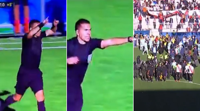 Unreal Referee awards penalty through absent VAR in Bolivian League