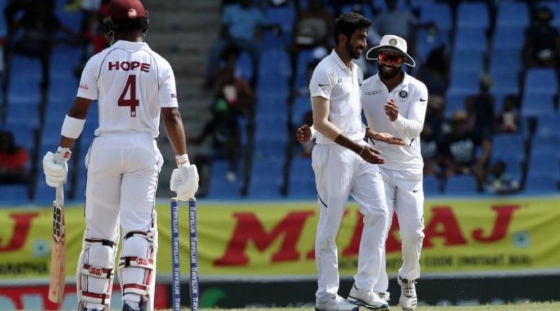 WATCH: Jasprit Bumrah gives 'smiling' send-off to Shai Hope after dismissing him with unplayable delivery during Antigua Test