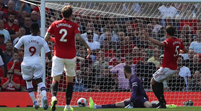 David De Gea error vs Crystal Palace: Manchester United concede a goal minutes after equalizing