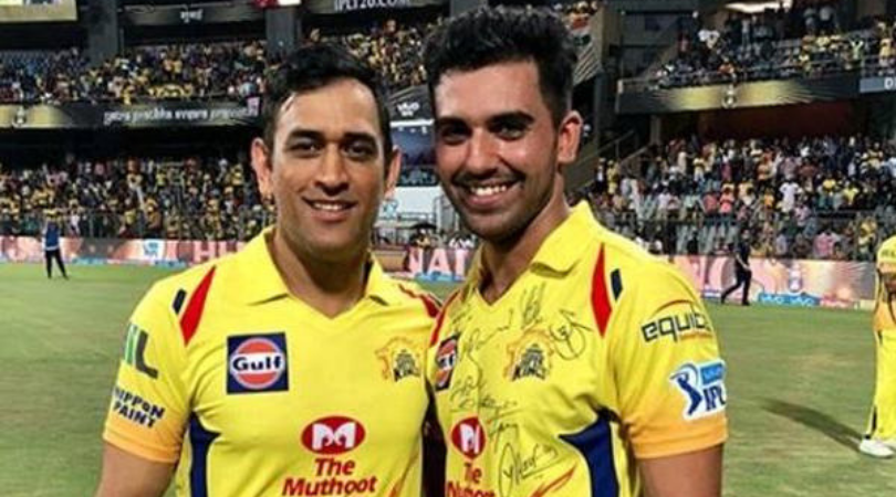 Deepak Chahar reveals how MS Dhoni included him in CSK