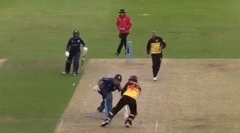Kiplin Doroga stumping vs Scotland: Watch PNG wicket-keeper affects outstanding stumping to dismiss Richie Berrington